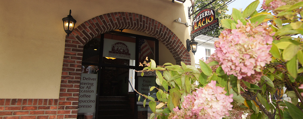 Centrally located in heart of downtown Poughkeepsie, <br />Pizzeria Bacio serves up Italian goodness everyday!