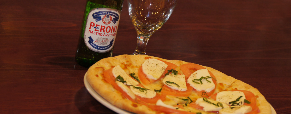 Stop in for an Ice Cold Beer and Personal Pan Pizza!
